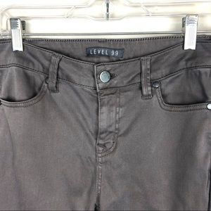 Level 99 Jeans - Level 99 high rise skinny jeans gray